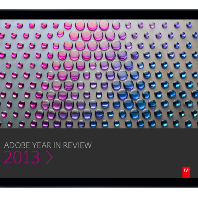 Adobe Launches Year in Review App