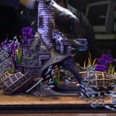 Fall into a hypnotic daze with this CGI aquarium video