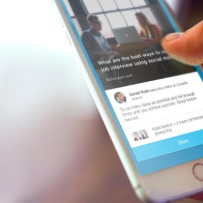 LinkedIn Raises Its Game In Social Media With Elevate, An App To Suggest And Share Stories