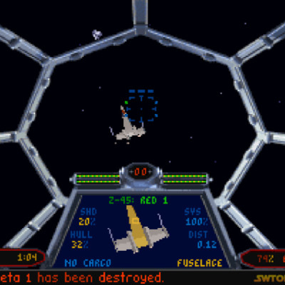 Star Wars X-Wing And TIE Fighter Games Come To Steam