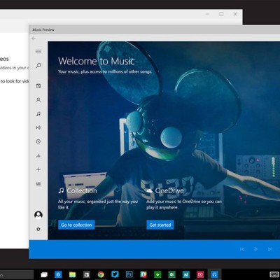Windows 10's new Music and Video apps finally drop the Xbox naming