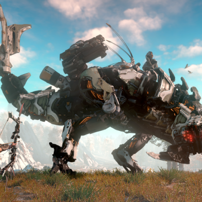 Horizon Zero Dawn: a robot-dinosaur hunting game with something to say about life